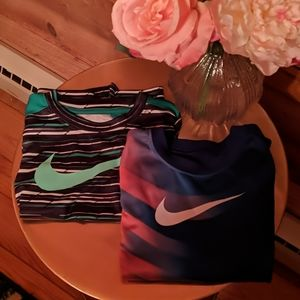 3 Boys size Sm (5/6) Nike T-shirts
